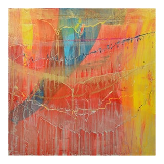 Signed Original Abstract Painting 7484