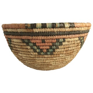 Vintage African Hausa Basket