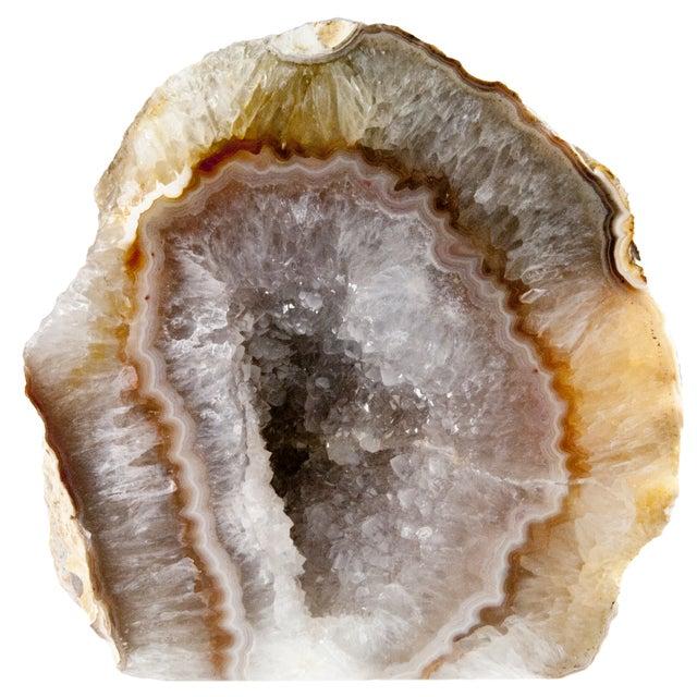 Cut Polished Crystal Geode - Image 1 of 4