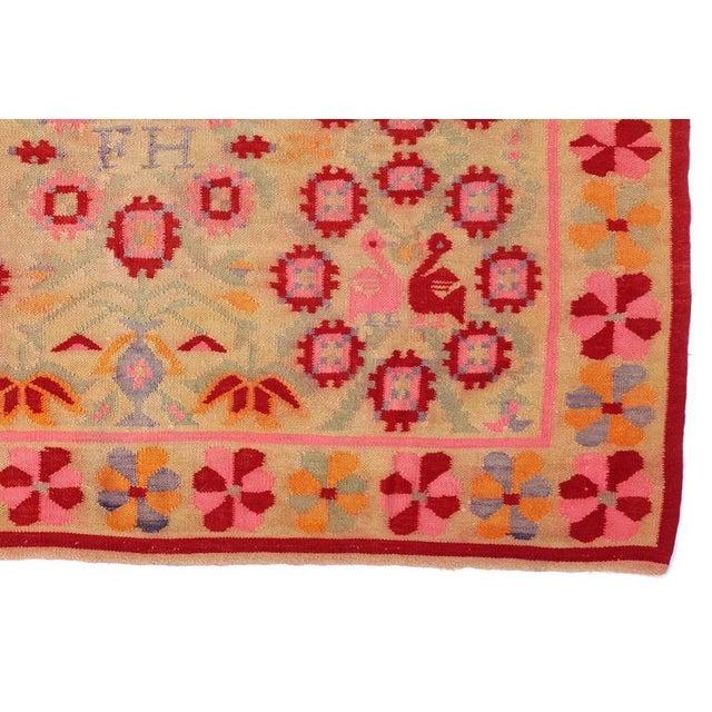 Fernanda Handmade Vintage Rug - 4′11″ × 6′9″ - Image 5 of 6