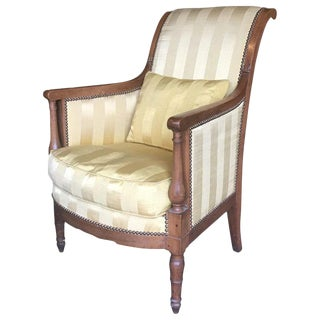 19th Century Directoire Bergere Chair