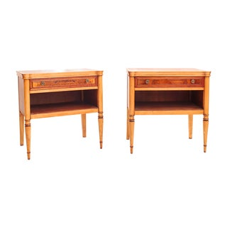 Traditional Drexel Nightstands - Pair