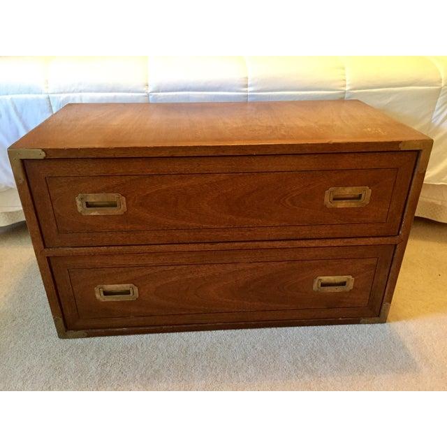 Drexel Wood Campaign Dresser - Image 2 of 7