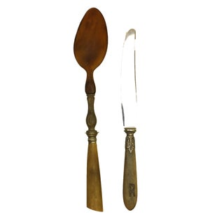 19th Century French Serving Set - 2 Pieces