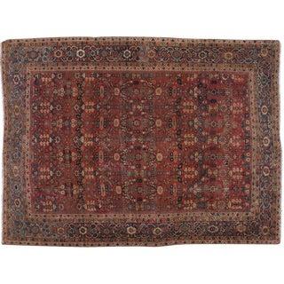 "Vintage Persian Mahal Rug - 9' X 12'1"""