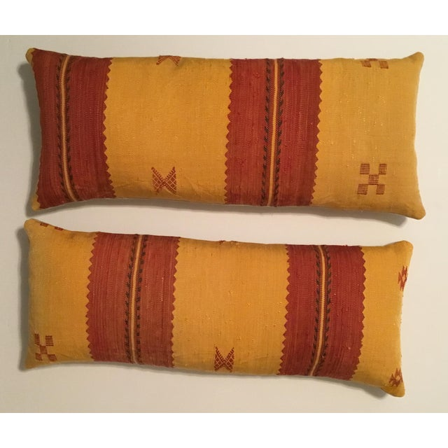 Moroccan Cactus Silk Pillow - A Pair - Image 2 of 11