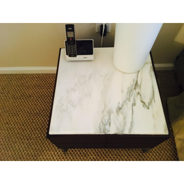 Image of Marble Top Side Table