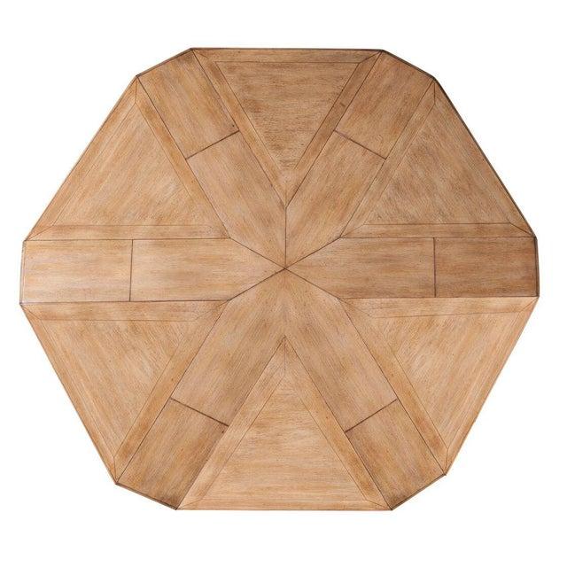 Sarreid LTD Hexagonal Jupe Dining Table - Image 2 of 4