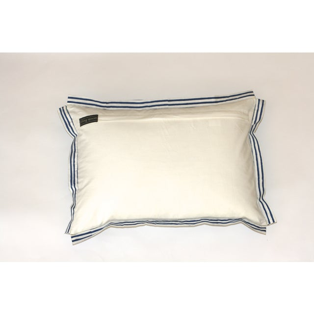Block Printed Elephant Pillow - Image 3 of 4