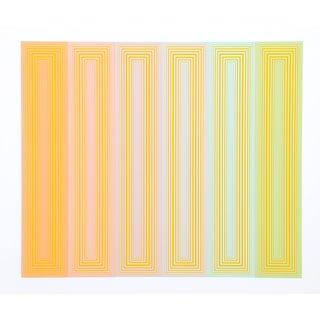 "Richard Anuszkiewicz ""Sun Keyed"" Serigraph"