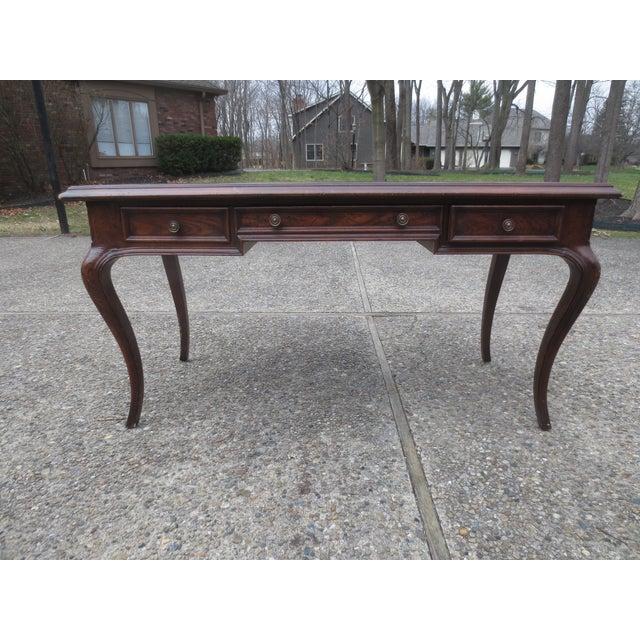 Vintage Henredon Desk From Indiana Governor - Image 2 of 8