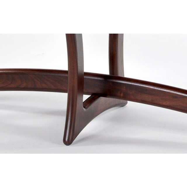 Walnut Deco Coffee Table - Image 4 of 5