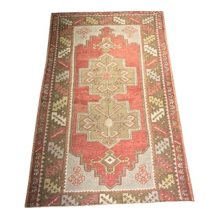Bellwether Rugs Vintage Turkish Oushak Area Rug - 3'10x6'4""