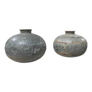c. 1850 Antique Water Vessels
