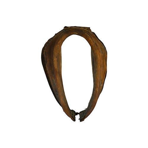 Vintage Equestrian Leather Horse Collar - Image 1 of 5