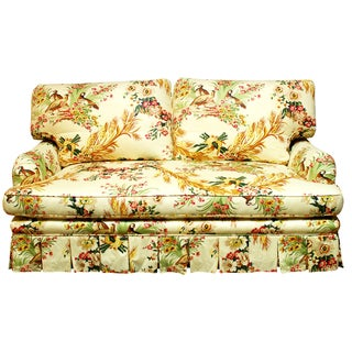 Brunschwig & Fils French Upholstered Toile Sofa
