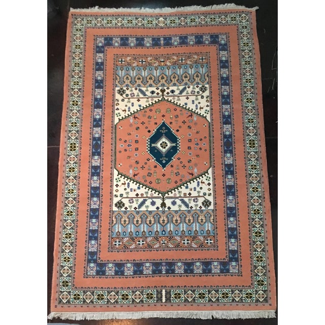 "Hand-Woven Moroccan Rug - 6'7"" X 11' - Image 2 of 5"