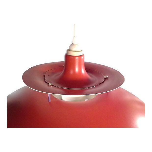 Red Danish Ph5 Hanging Light - Image 2 of 4