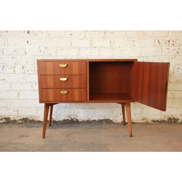 helmut magg for wk m bel mid century credenza chairish. Black Bedroom Furniture Sets. Home Design Ideas
