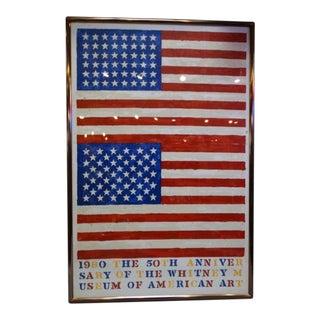 Whitney Museum Framed Anniverary Poster