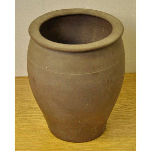 Vintage French Stoneware Pot - Image 2 of 7