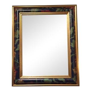 Chinoiserie Gilt Wood & Beveled Edge Mirror