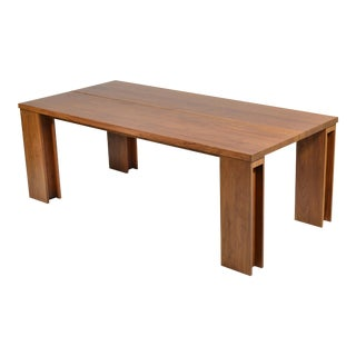 "De La Espada ""Long"" Table in Black Walnut"