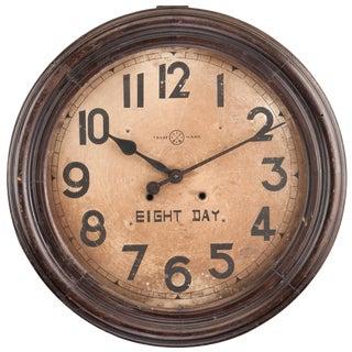 Edwardian Eight-Day Wall Clock