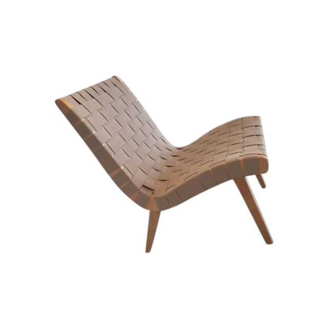 Image of Original And Signed Jens Risom Lounge Chair