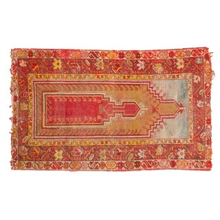 "Antique Mudjur Rug - 2'8"" x 4'5"""