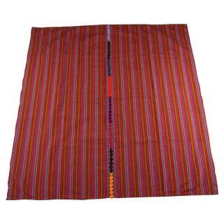 Guatemalan Tzute Blanket