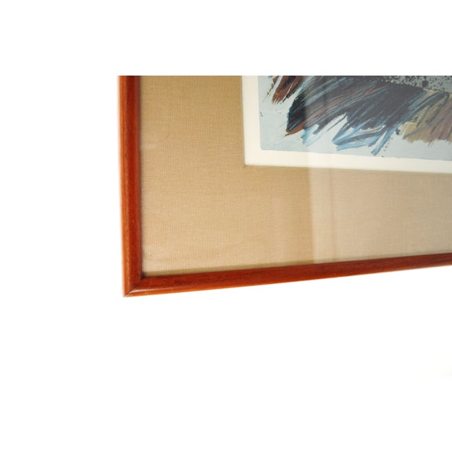 Image of Modern Framed Print Signed by Laddie John Dill