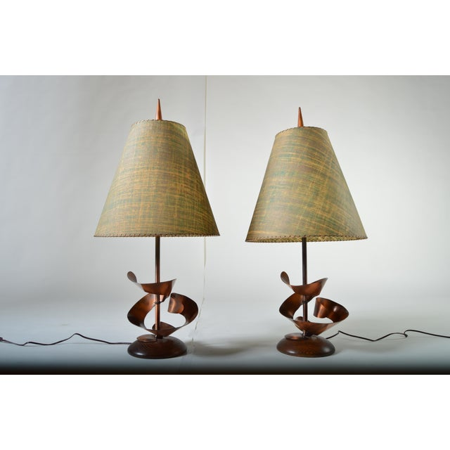 Harry Balmer Mid-Century Brutalist Table Lamps - A Pair - Image 2 of 8