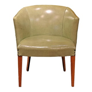 Mid-Century Pistachio Chair