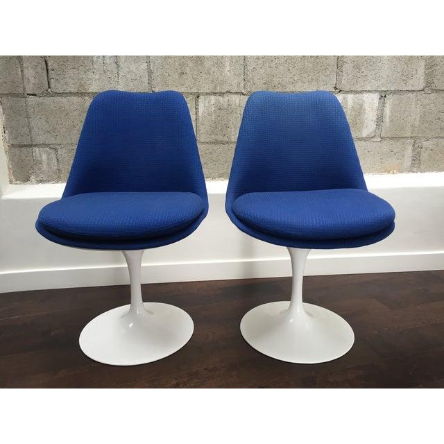 Eero Saarinen for Knoll Tulip Chairs - Set of 6 - Image 7 of 10
