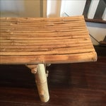Image of Curved Bamboo Bench