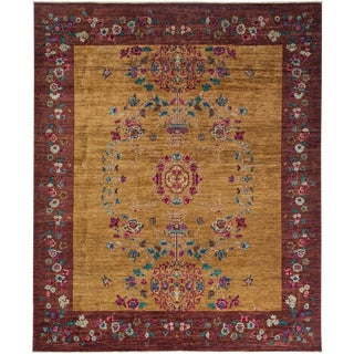 "Suzani, Hand Knotted Area Rug - 8' 0"" x 9' 9"""