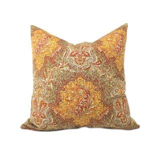 Italian Paisley Pillow