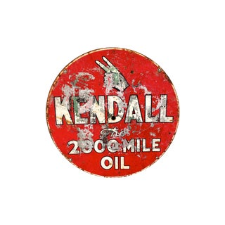 Vintage Kendall Oil Sign
