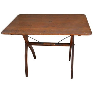 Early 1900's Wooden Folding Sewing Table