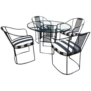 Woodard Mid-Century Modern Patio Dining Set