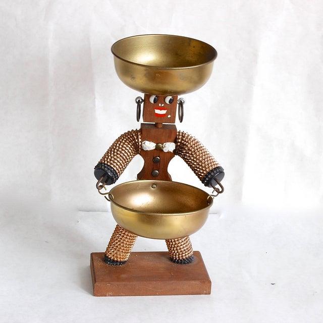 Image of Vintage Kitschy Nut Server