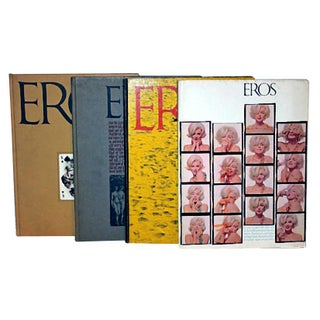 1962 Eros Book Collection - Set of 4
