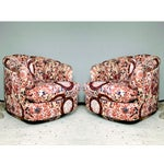 Image of Milo Baughman Swivel Chairs - Pair