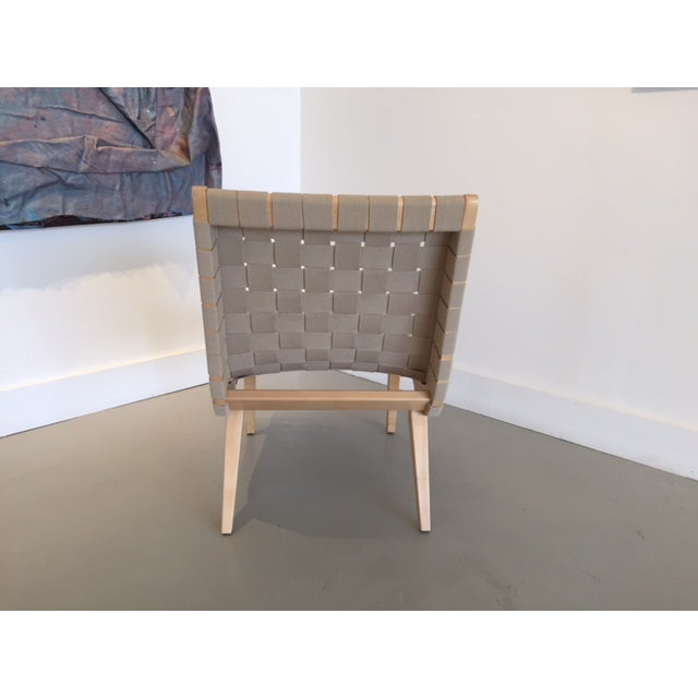 Original And Signed Jens Risom Lounge Chair - Image 5 of 9