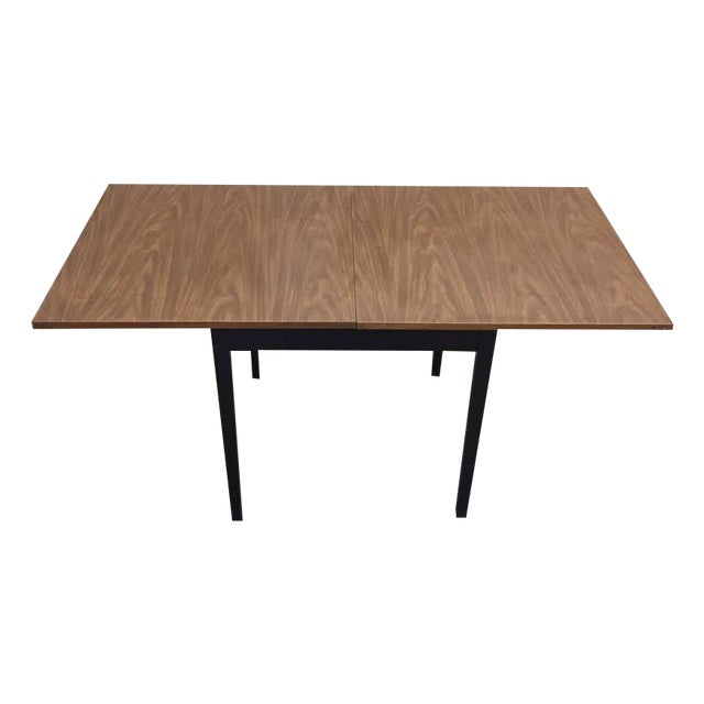 Mid-Century Modern Folding Top Dining/Card Table - Image 1 of 7