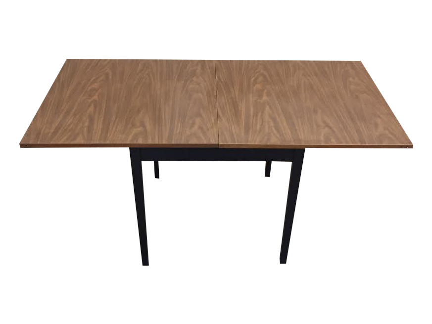 Mid Century Modern Folding Top Dining/Card Table   Image 1 Of 7
