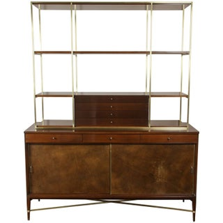 Paul McCobb for Calvin Wall Unit With Credenza