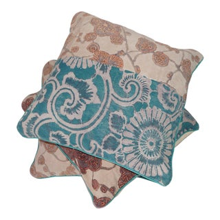 Anthropologie Boho Chic Floor Cushions - Set of 3