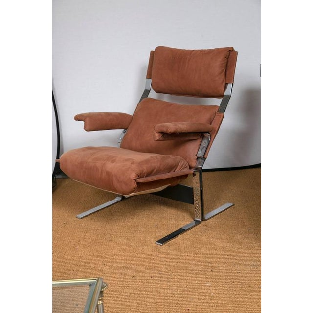 Richard Hersberger for Pace Lounge Chair & Ottoman - Image 2 of 9